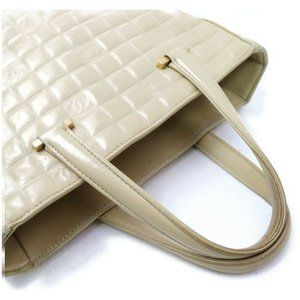 CHANEL Bags - Chanel Hand Bag Beiges Lamb Skin